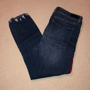 A&F ankle jeans